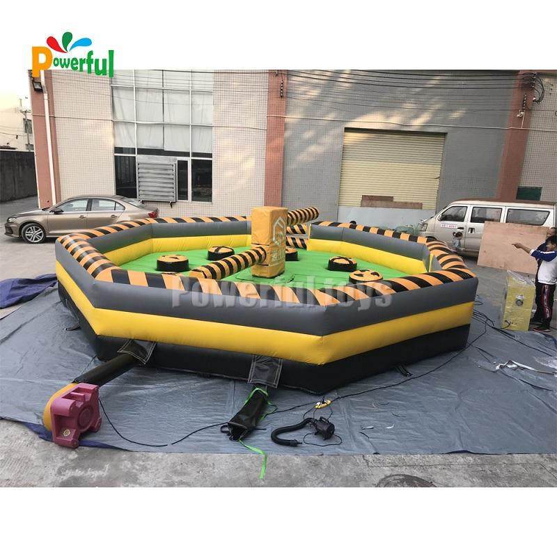 7m DIA inflatable wipeout Challenge game