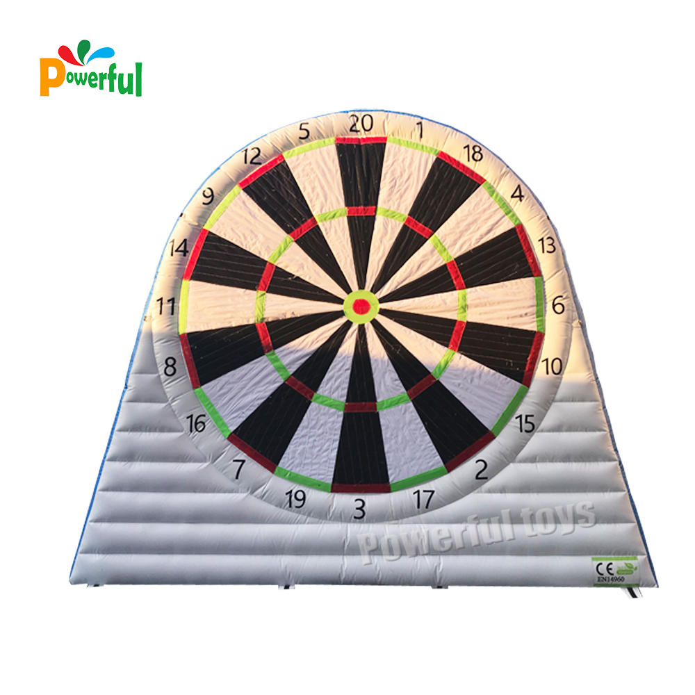 Double wall inflatable football darts
