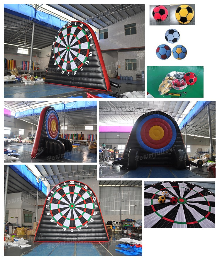 custom inflatable football dart light weight fast shipping-7
