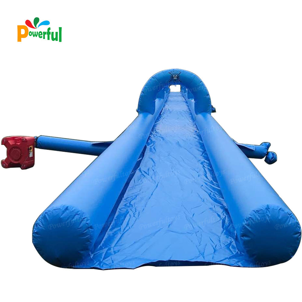 50m inflatable city slip n slide