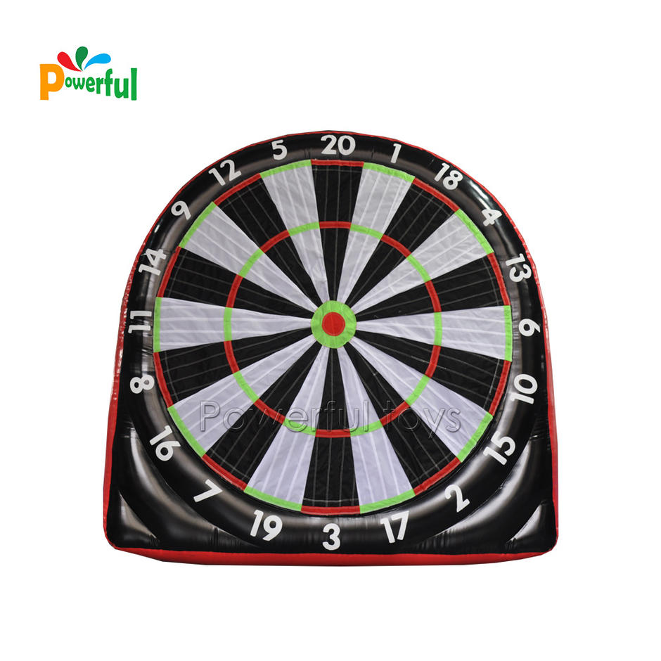 Single side 3m H inflatable dart football board