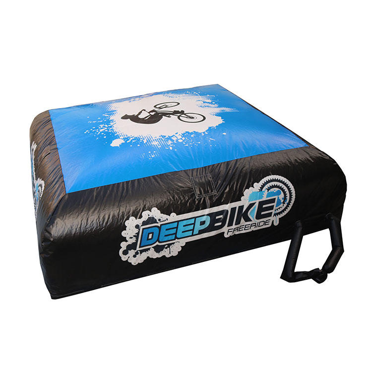 BMX sport inflatable landing freestyle air bag