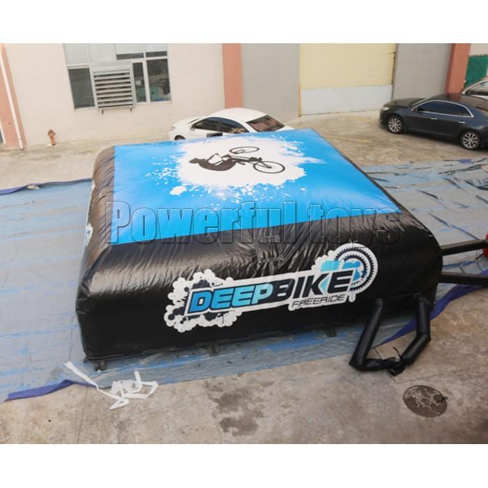 Powerful Toys freestyle landing airbag bmx for sports