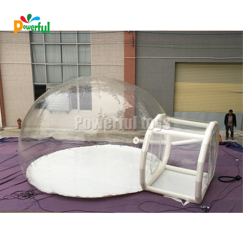 Powerful Toys inflatable dome tent top brand-7