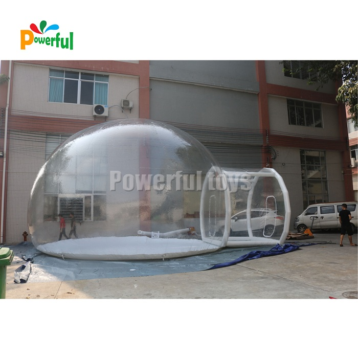 Powerful Toys inflatable dome tent top brand-8