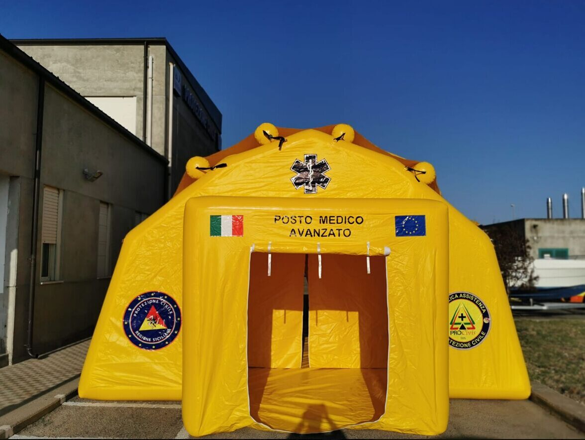 new inflatable tent fast delivery-14