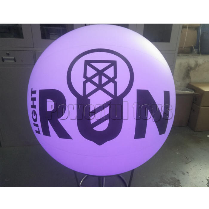 Colorful inflatable led crowd ball for party throwing