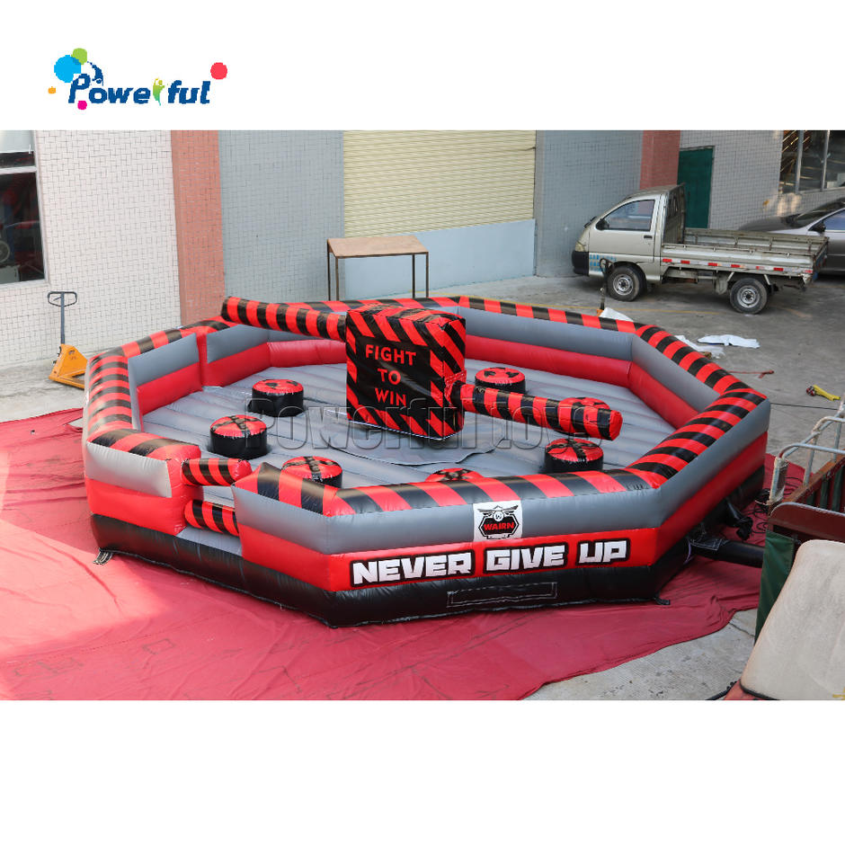 7m diameter infatable wipeout /eliminator /meltdown game