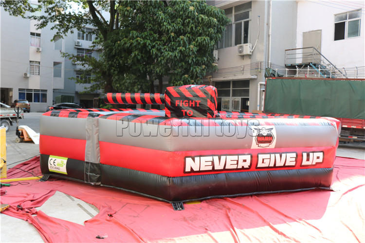 top brand wipeout inflatable light weight for amusement park