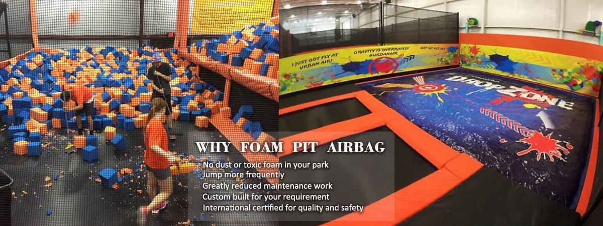Powerful Toys foam pit airbag cheapest factory price for sale-5