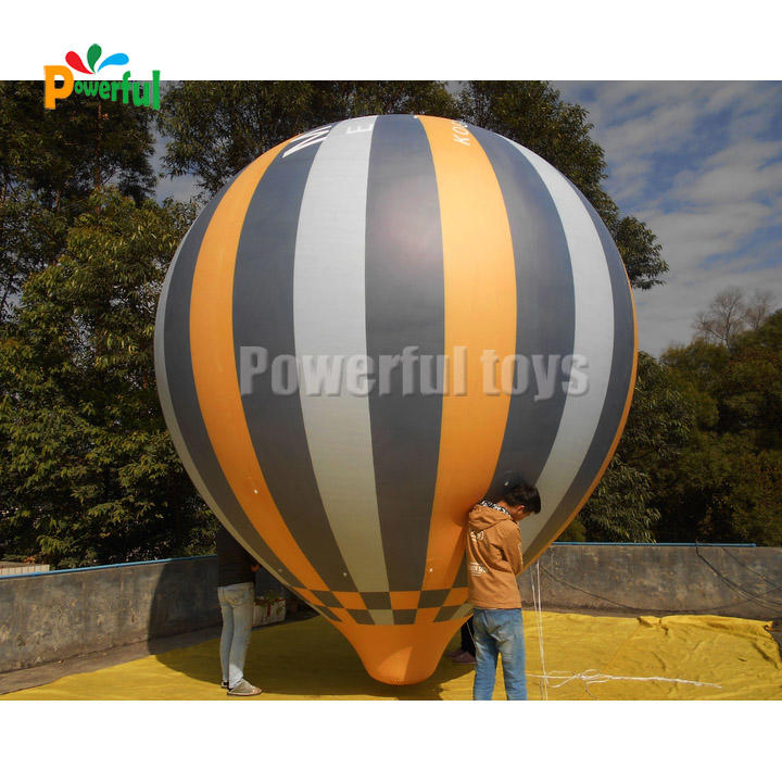 5mH Advertising hot air balloon inflatable fly helium balloon