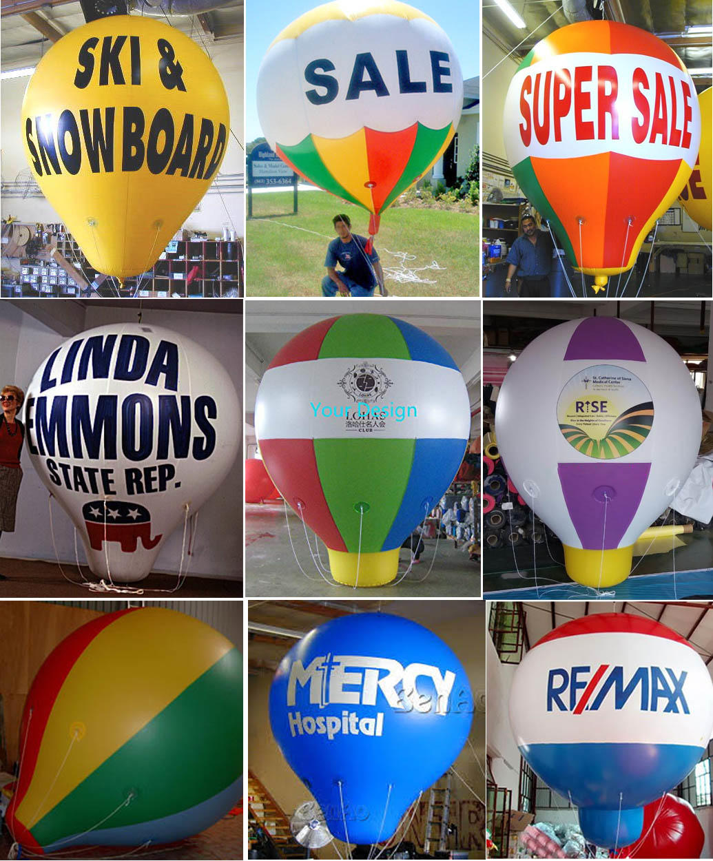 Powerful Toys advertising balloons custom for wholesale