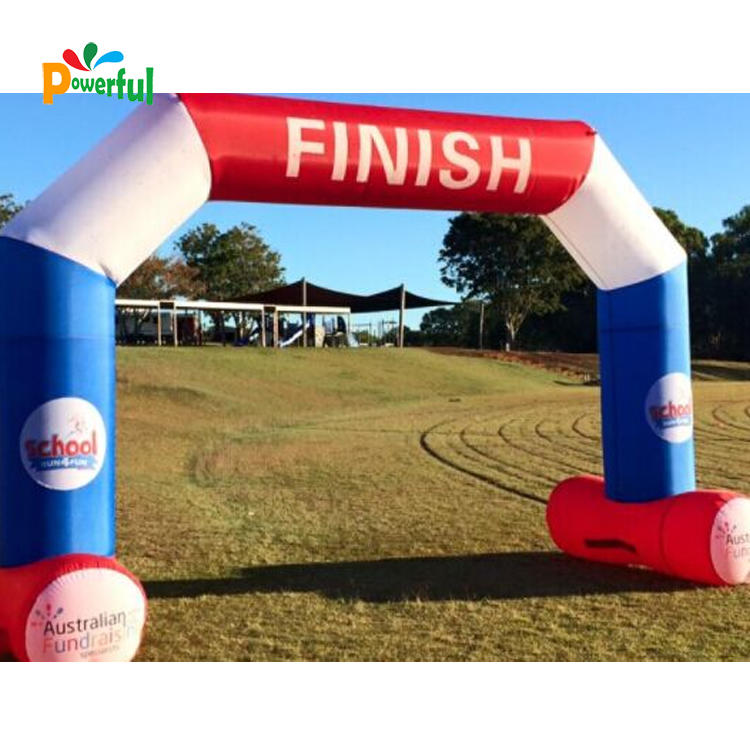 Durable PVC inflatable racing arch for sports