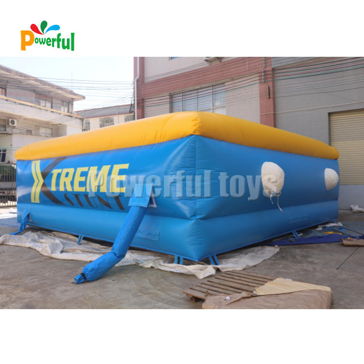7x7m inflatable stunt airbag jump air bag for sports