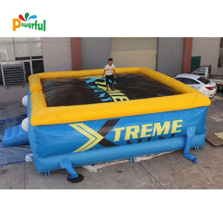 landing jump air bag mat for trampoline Powerful Toys