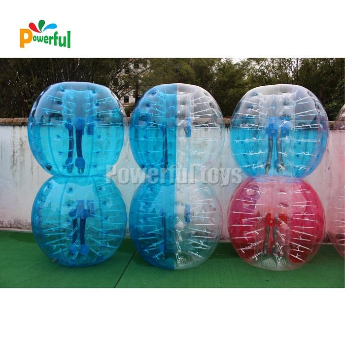 PVC bubble football in 1.5m size for adult