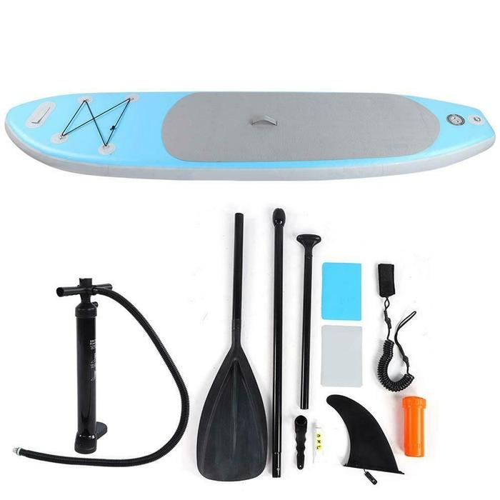 Blue water toys sup stand up inflatable paddle board surf water walker