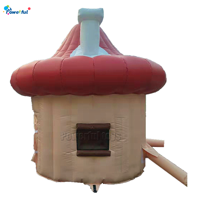 waterproof PVC material inflatable mushroom tent for outdoor