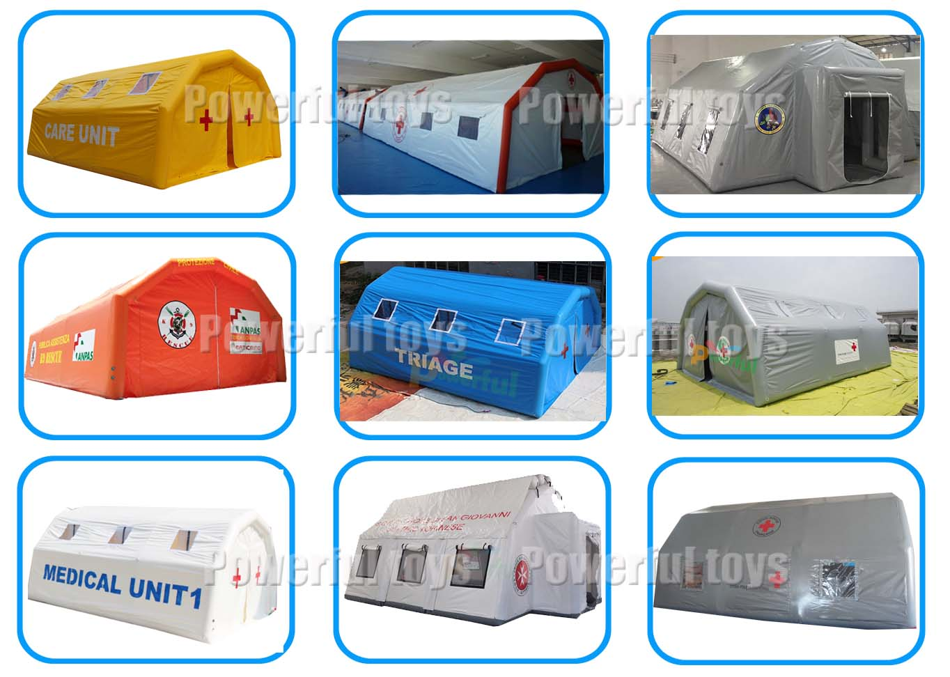 Powerful Toys chic new inflatable tent practical top brand-8