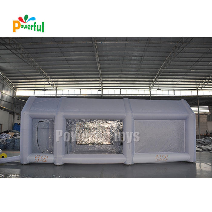 26x15x10 ft inflatable spray paint booth tent
