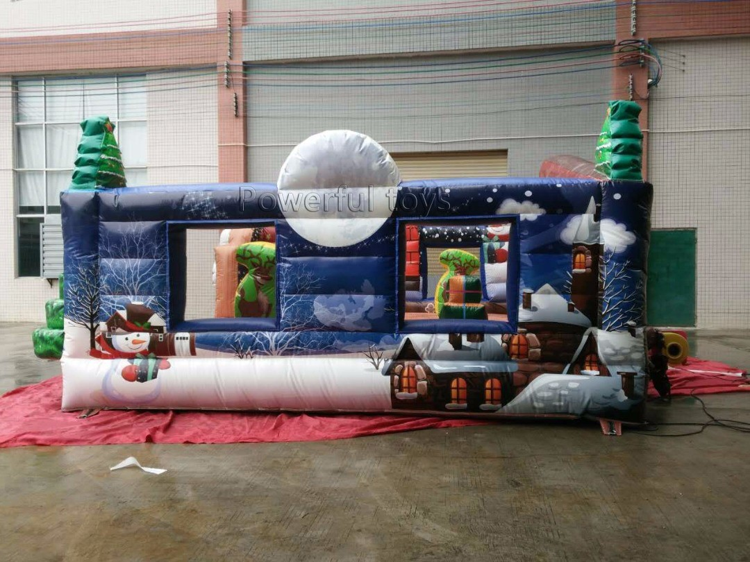 Powerful Toys popular inflatable bouncer castle top selling for customization-4