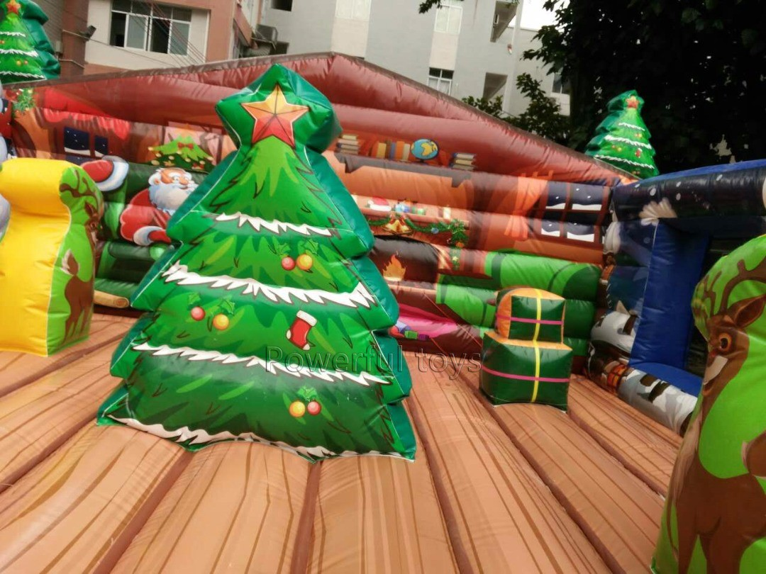 Powerful Toys custom inflatable bouncer castle top brand for customization-5