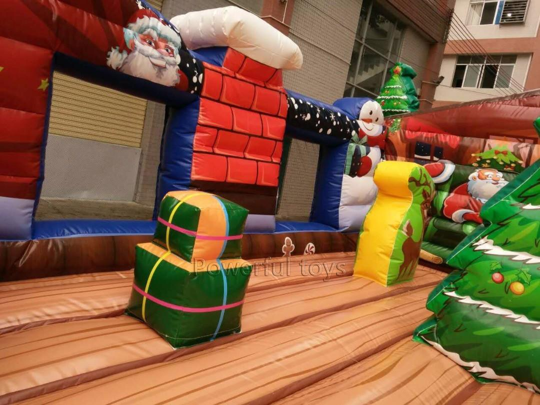 Powerful Toys popular inflatable bouncer castle top selling for customization