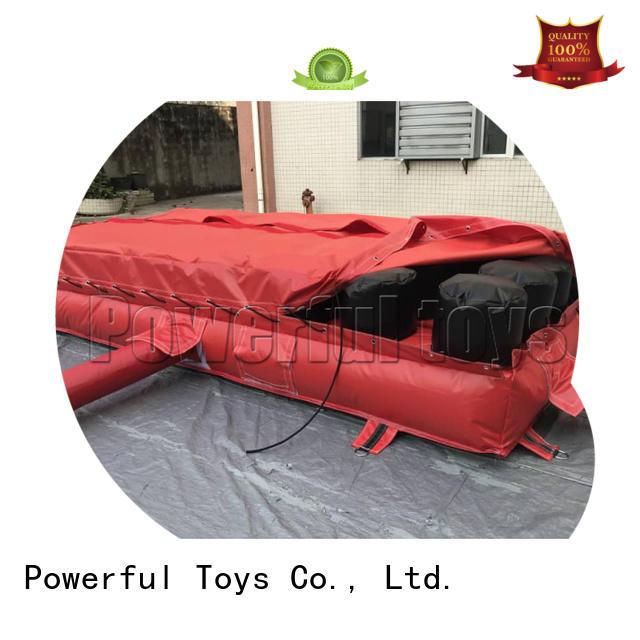 OEM trampoline air bag cheapest factory price for amusement park