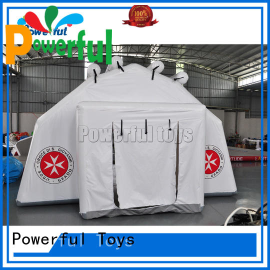 Powerful Toys chic inflatable bubble tent custom factory direct supply