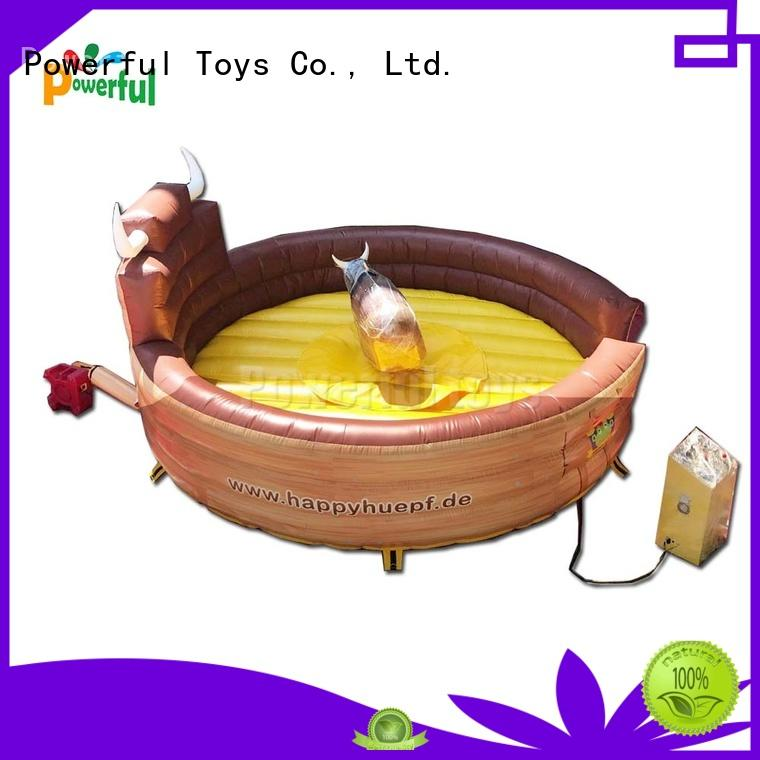 Powerful Toys Inflatable rodeo bull top brand wholesale