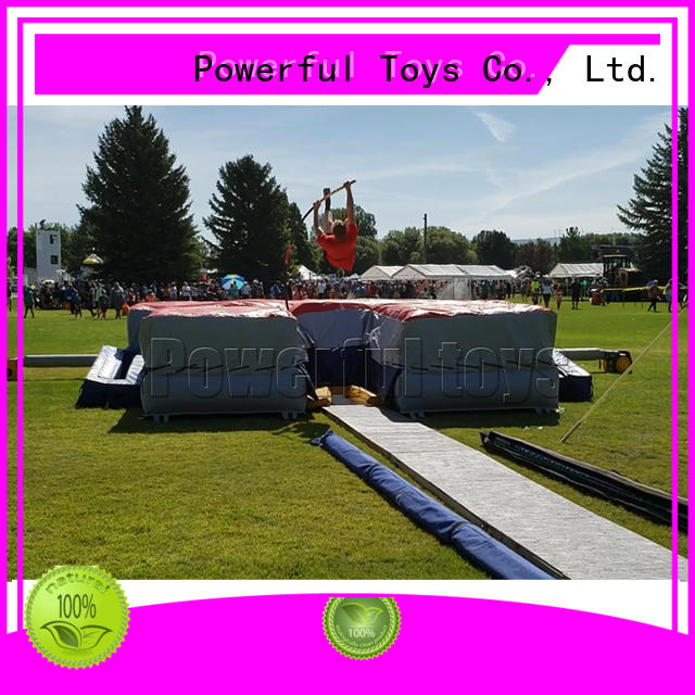Powerful Toys trampoline airbag bulk for wholesale