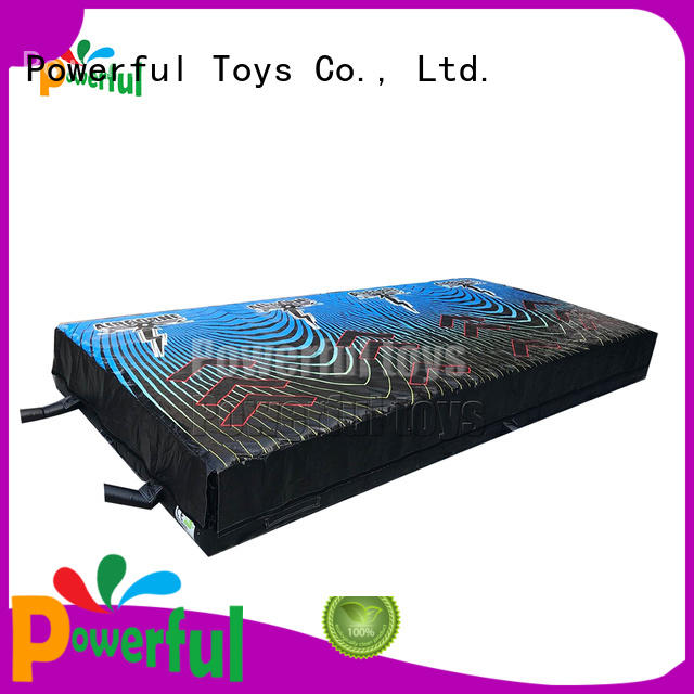 mega jump trampoline park inflatable Powerful Toys