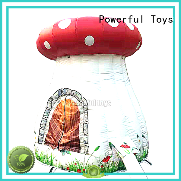 Powerful Toys inflatable tent sale custom fast delivery