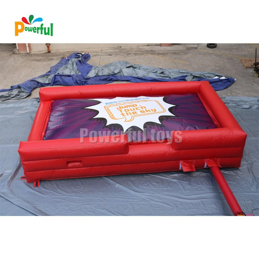 inflatable landing pad for trampoline park-1