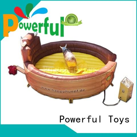 Powerful Toys customized Inflatable rodeo bull high quality at sale