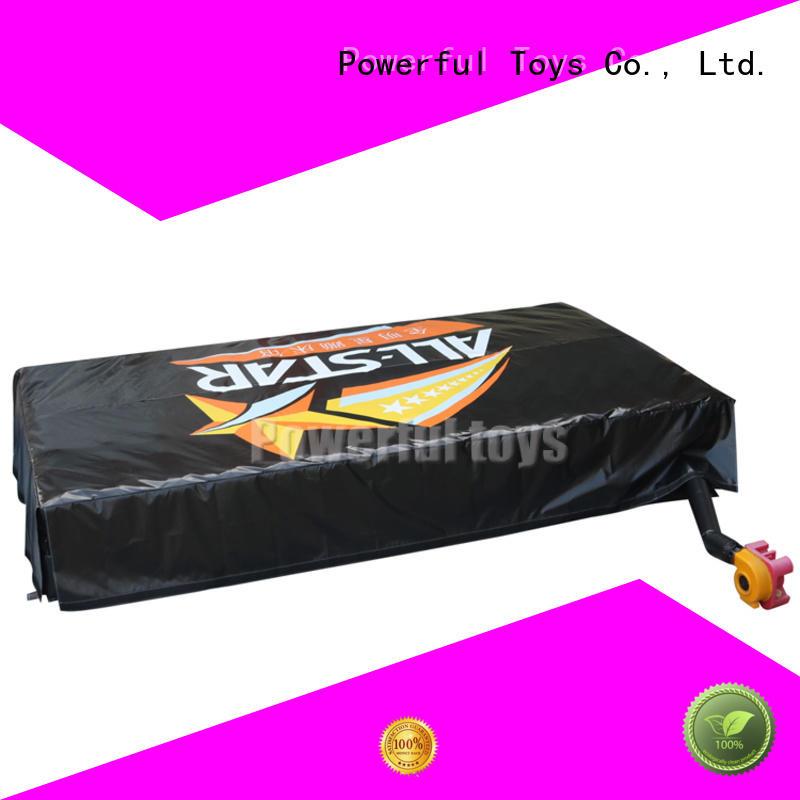 wholesale jump air bag mat slide Powerful Toys