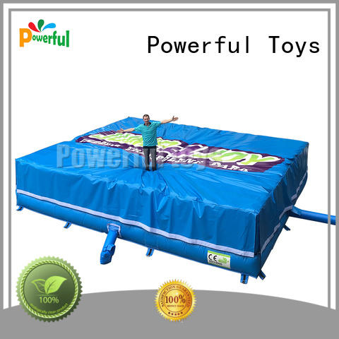 pad airbag design cheapest factory price for wholesale Powerful Toys