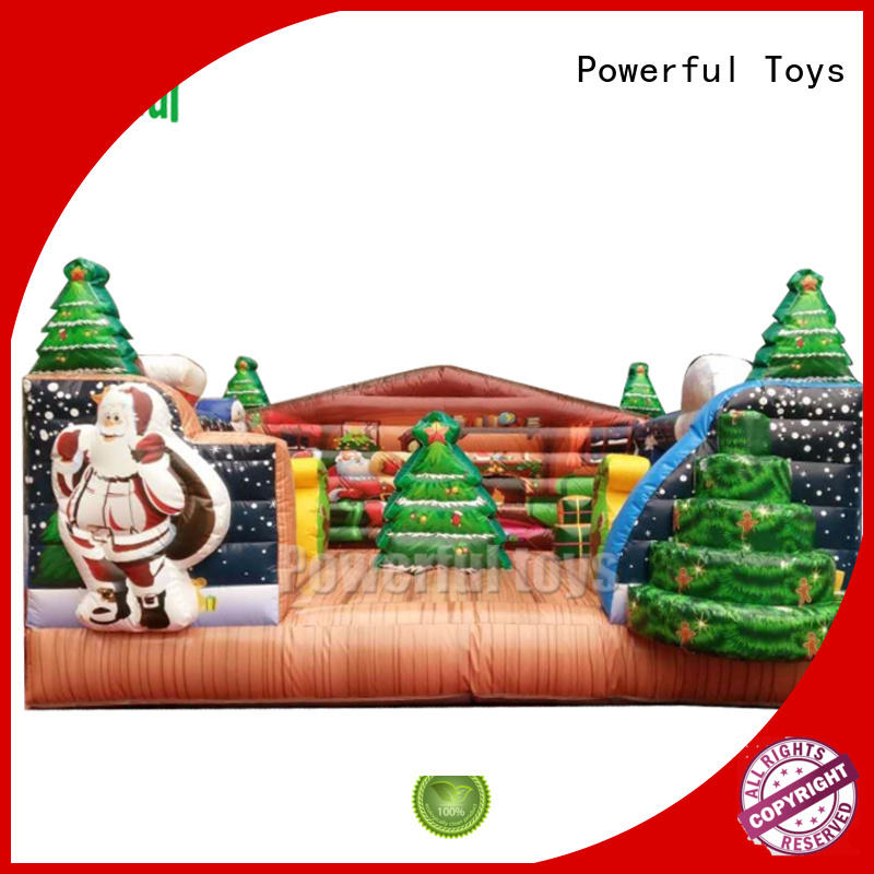 Powerful Toys custom inflatable bouncer for customization