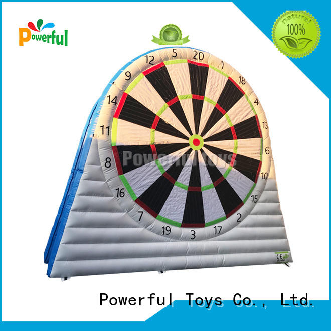 safe outdoor inflatables bulk production for skiing Powerful Toys