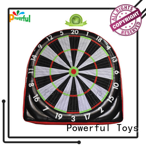 Powerful Toys inflatable football dart top brand oem&odm