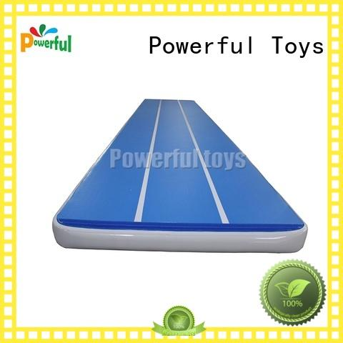 Powerful Toys mini air track mat tumble for dancing