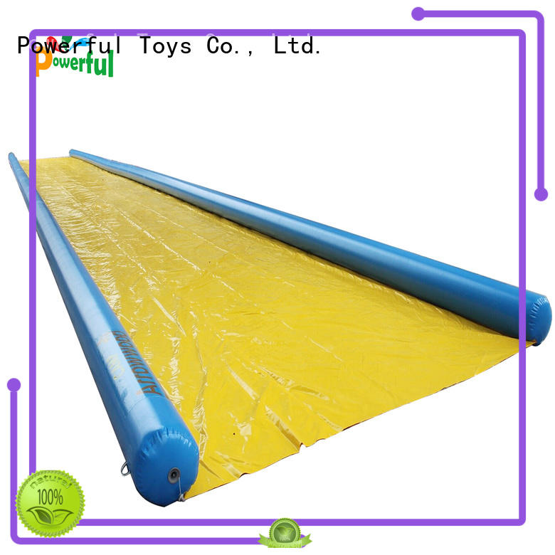 Powerful Toys durable outdoor water slide for fun