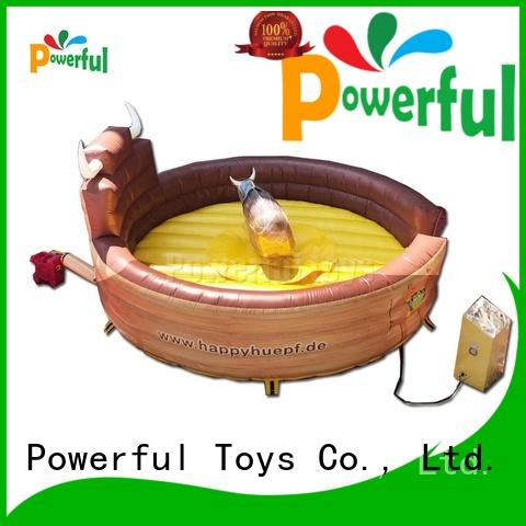 Powerful Toys customized Inflatable rodeo bull fast delivery at sale
