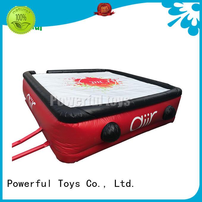 Powerful Toys wholesale air track foam kick