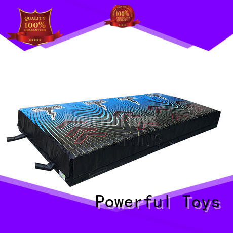 airbag trampoline pit for sale Powerful Toys