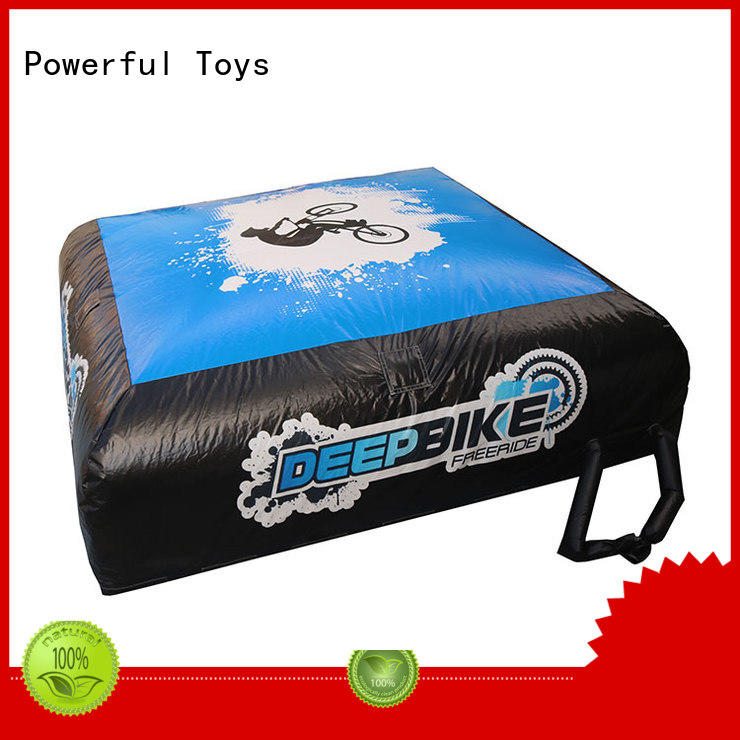 Powerful Toys universal airbag landing for park