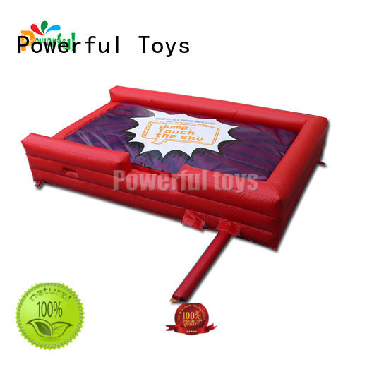 Powerful Toys trampoline airbag cheapest factory price for sale