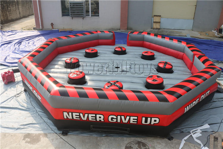 top brand wipeout inflatable light weight for amusement park-2
