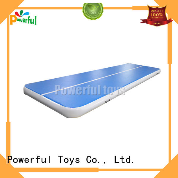 Powerful Toys soft jump air bag mini slide
