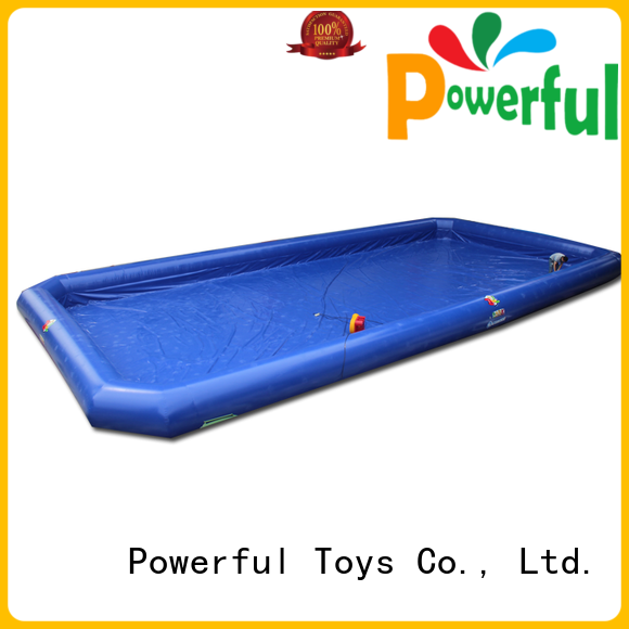 Powerful Toys high-quality commercial inflatable water slides light weight for fun